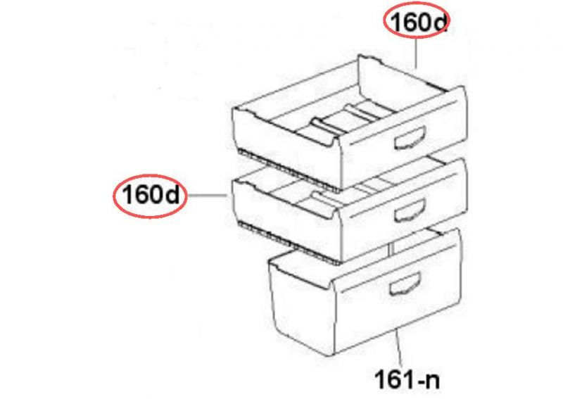 Tiroir supérieur ou intermédiaire Image #2
