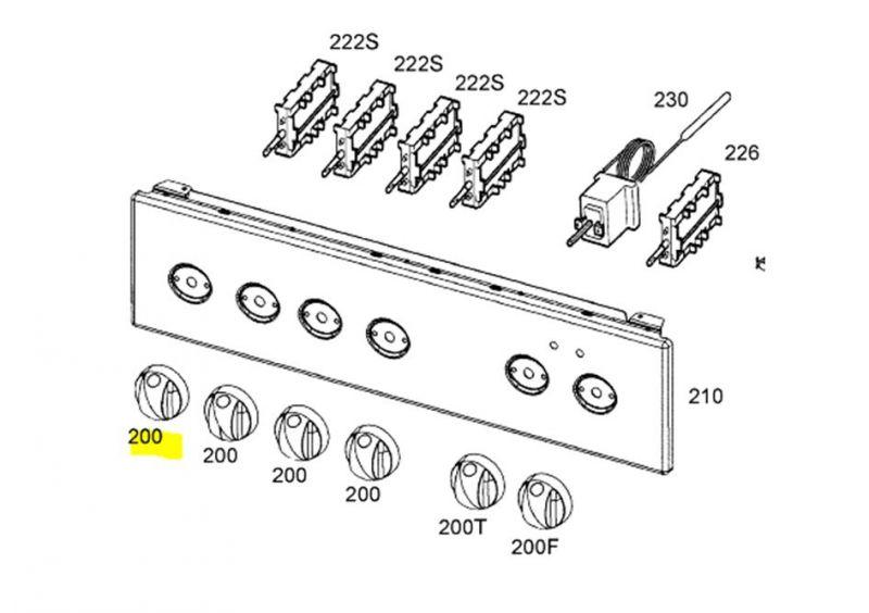 Bouton regulateur d'energie Image #2