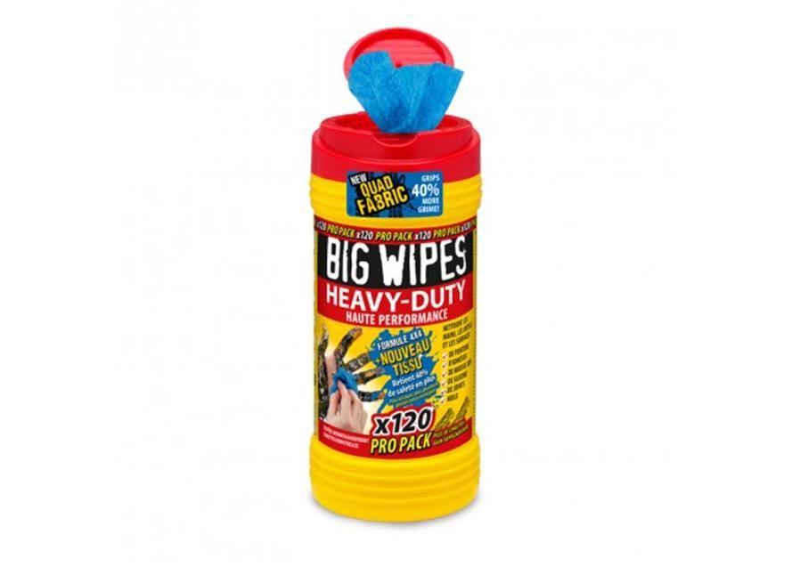 Boite 120 lingettes BIG WIPES Image #1
